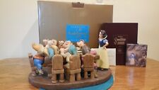 """WDCC """"Soup's On"""" Snow White and the Seven Dwarf's  Signature Series Very Limited"""