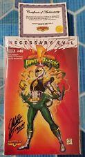 MMPR #40 Superman 233 Homage Variant Signed by Matt Frank w/COA