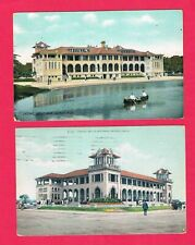 CASINO at Belle Isle, Detroit, Michigan 1909 and 1913 Post Cards
