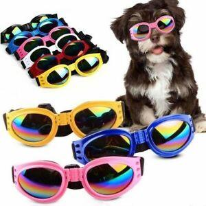 Sonnenbrille für Hunde für groß und klein Schutzbrille gegen Wind Sonne UV