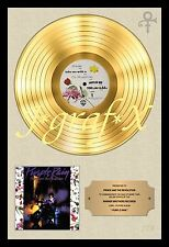 PRINCE - PURPLE RAIN - GOLD RECORD - POSTER REPRO - REALLY COOL ARTWORK!!!