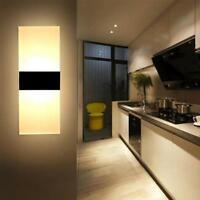 Warm Lighting Lamps LED Wall Light Up Down Cube Indoor Outdoor Sconce Fixture