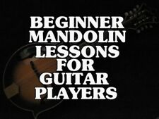 Beginner Mandolin Lessons For Guitar Players DVD Country, Bluegrass Etc. Easy.