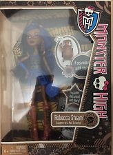 NEW HTF Monster High Doll First Wave Release ROBECCA Steam Barbie Doll