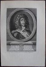 CESAR DE CHOISEUL DUC PAIR ET MARECHAL DE FRANCE (1598-1675) ,