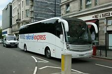 National Express liveried 4019 FJ11MLY Yourbus 6x4 Quality Bus Photo