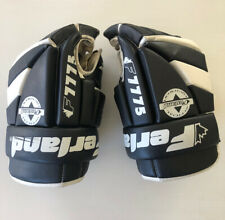 Ferland F7775 14'' Leather Hockey Gloves Black And White