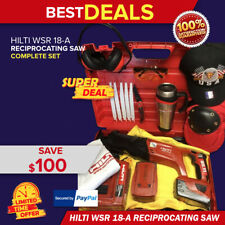 Hilti Wsr 18 A Reciprocating Saw Great Condition Free Blades Fast Shipping