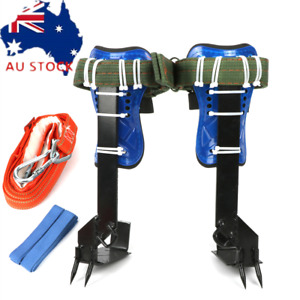 Safety Tree Climbing Spike Set 2 Gear Survival Hunting Climbing Tool Safety Belt