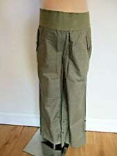 SIMPLY BE MATERNITY KHAKI UNDER BUMP CARGO SHORTS ROLL UP TROUSERS SIZE 16 BNWT