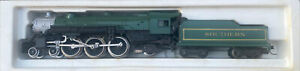 N Scale 4-6-2 Southern #5312 Passenger Steam Locomotive MTL Coupler Tested/Runs