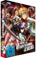 Highschool of the Dead - Gesamtausgabe - DVD - NEU