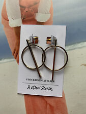 BN Other Stories Metallic Drop Earrings CoS
