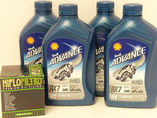 Shell Advance ax7 4t 10w-40/Filtre à huile yamaha yzf 1000 thunder Ace BJ 96 - 02