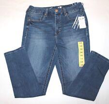 8147b215ee0 Seven7 Tummyless SKINNY Jeans Ginsberg Blue Women s Plus Sz 20w
