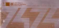 1974 Pontiac Grand Am LeMans Owners Manual User Guide Reference Operator Book