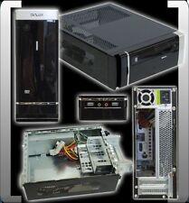 DELUX MINI ITX GEHÄUSE DLC-MS126 INKL. NETZTEIL 250 WATT FRONT USB & AUDIO TOP