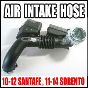 Hyundai 10~12 Santafe / KIA 11~14 Sorento 2.4L  AIR INTAKE HOSE  OEM 28140-2P200