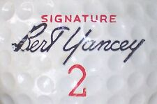1964 Bert Yancey Signature #2 Signature Logo Golf Ball