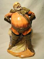 Royal Doulton Porcelain Figurine of Falstaff HN2054 1950 Retired Figure 1992
