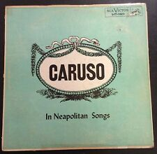 Enrico Caruso on RCA Victor LCT-1129 Neapolitan Songs