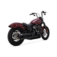 Vance & Hines Twin Slash Slip-Ons Schwarz, für Harley-Davidson Softail 18-19
