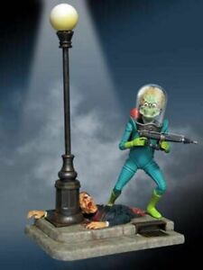"MOEBIUS  Mars Attacks: Martian Warrior Figure (12"" T)  MOE936"
