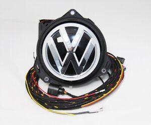 NEW GENUINE VW T-ROC REAR VIEW CAMERA RVC LOGO EMBLEM BADGE 2GA827469 D