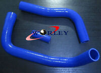 BLUE Silicone Radiator Hose Kit for Toyota Landcruiser HJ75 2H 1984-1990 87 88