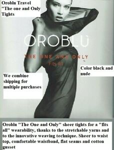 "Oroblu Travel ""The One and Only"" tights, Fits All wearability thank to new yarns"