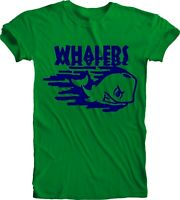 Hartford Whalers Punky DEFUNCT NHL OLD TIME Ice Hockey NHL Green T Tee Shirt