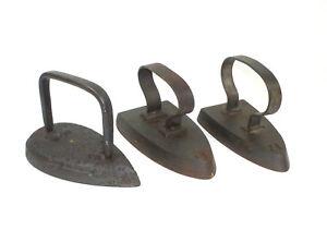 Three Iron XIX Century Iron
