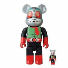 Be@rbrick Kamen Rider New No.2 400% 100% Set BEARBRICK Medicom Toy 4530956579429