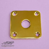 Plaque Input Jack Plate for Gibson Epiphone LesPaul Guitar Gold