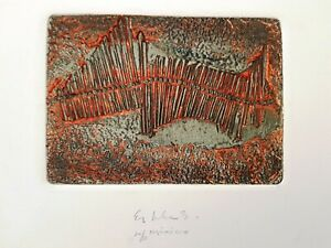 Esther GONZALES Sin titulo [Untitled] rare collectible Mexican fine art print
