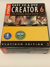 roxio easy CD and DVD creator 6