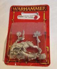 GW Warhammer Lizardmen Skink Cold One Command(8584T) - METAL SEALED BLISTER RARE