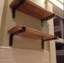1 Pair Of 225mm Shelf Brackets (scaffold Board)