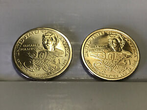 2020 P&D Native American Sacagawea Dollar UNC Anti-Discrimination Laws 2 Coins