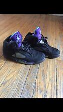 Nike Men's Sz 12 Air Jordan 5 Retro - Black Grape 5's