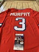 Dale Murphy Autographed/Signed Jersey JSA COA Atlanta Braves