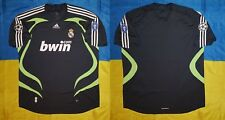 ●RARE REAL MADRID 2007/2008 THIRD CHAMPIONS LEAGUE SHIRT ADIDAS SIZE ADULT 2XL ●