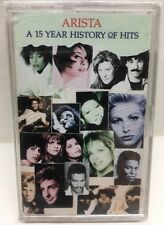 Arista: A 15 Year History Of Hits Cassette Tape New Sealed AC-8655