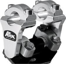 Rox Universal Aluminum 2 Inch Pivoting Handlebar Riser For 7/8 Bars Clamps