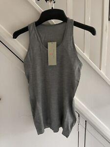 Sweaty Betty Athlete Seamless Workout Vest. Size M. New