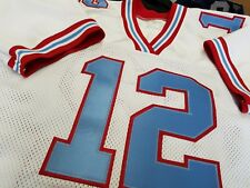 #00 Houston Oilers Football  JERSEY Your Name&Number sewn On.4XL5XL,6XL7XL.