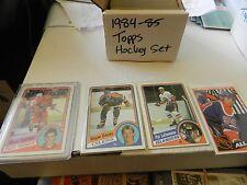 1984 85 Topps Set 1-165 Steve Yzerman Pat LaFontaine Verbeek Andreychuk Gretzky