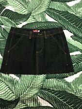 Dickie's Black Denim Mini Jean Skirt Size 1