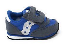 Saucony Baby Jazz HL Grey/Blue, SL263376, chiusura strappo, grigio/blu, bambino