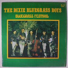 DIXIE BLUEGRASS BOYS: Bluegrass Festival LP (shrink) Bluegrass